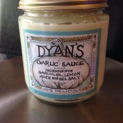 Dyan's Garlic Sauce