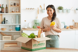 Food subscription box made easy