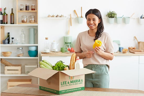 Food Subscription Box Lee and Maria's
