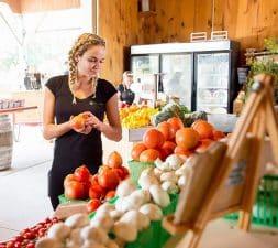 Lee and Maria's farm market