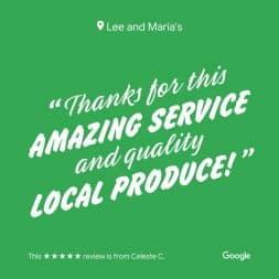 Lee and Maria's Subscription Box Google Review 2