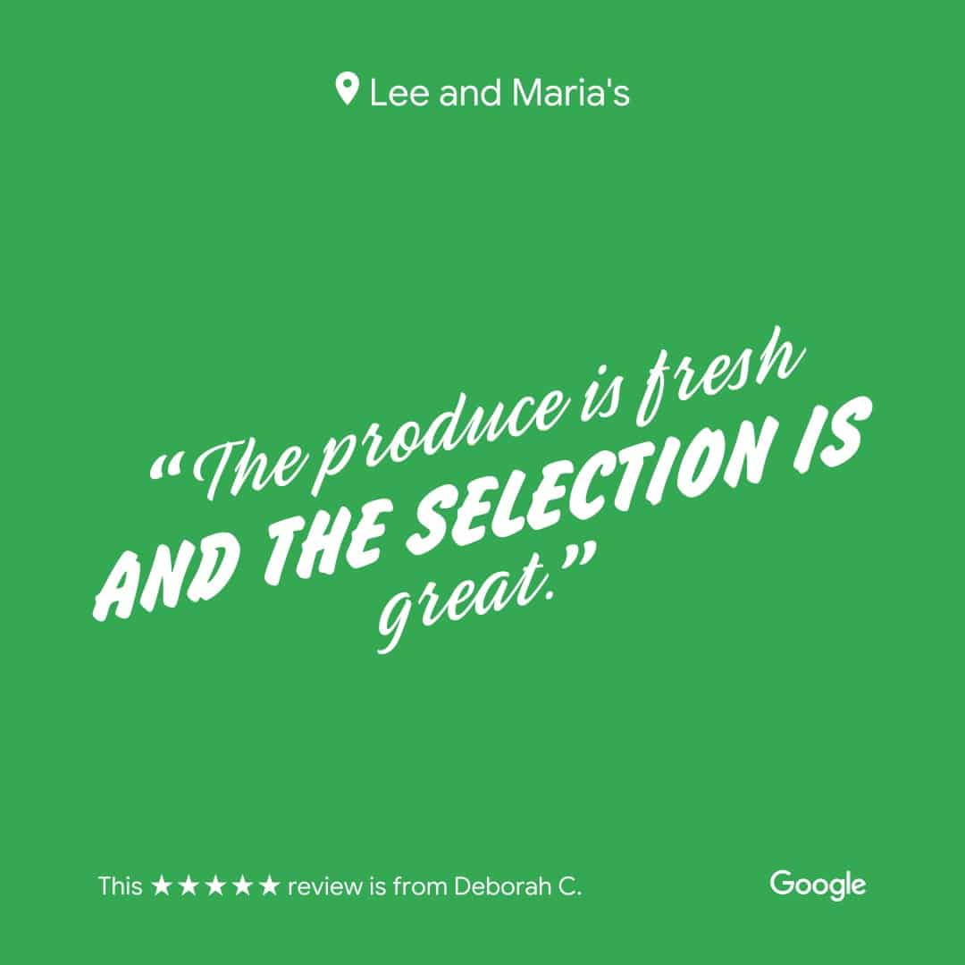 Lee and Maria's Subscription Box Google Review Image